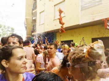 スペイン三大祭りのLa Tomatina