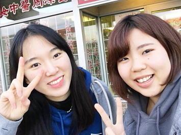 韓国の留学生と