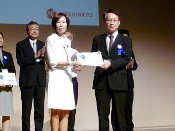 日本留学AWARDSを連続受賞(2016,2017年度)しました③