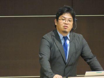国際講座第7講 野村明史 講師