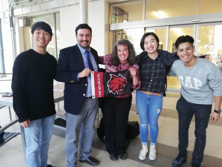 CWU派遣学生(交換留学・長期研修)によるキャンパスツアー