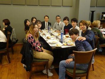 長期研修生8名との懇談・会食会