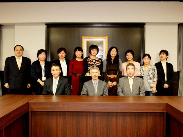 平成27年度 中国国家外国専家局研究生との懇談会開催