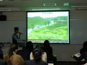 国際理解教育高大連携(留学生による交流授業)⑧【ネパール】