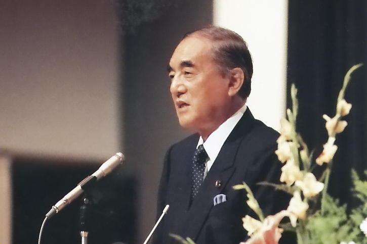 第12代拓殖大学総長 中曽根 康弘